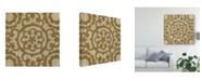 "Trademark Global Chariklia Zarris Neutral Masala IV Canvas Art - 15"" x 20"""