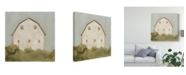 "Trademark Global Emma Scarvey Serene Barn III Canvas Art - 27"" x 33"""