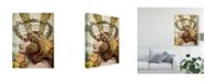 "Trademark Global Sandy Lloyd Femme Paris II Canvas Art - 37"" x 49"""