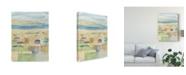 "Trademark Global Megan Meagher Mediterranean Coast I Canvas Art - 20"" x 25"""