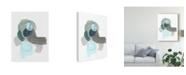 "Trademark Global June Erica Vess Coda IV Canvas Art - 37"" x 49"""