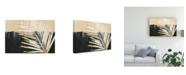 "Trademark Global Jennifer Paxton Parker Golden Raffia II Canvas Art - 37"" x 49"""