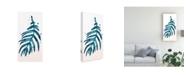 "Trademark Global June Erica Vess Stems in Indigo IV Canvas Art - 20"" x 25"""