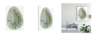 "Trademark Global Melissa Wang Icy Forest II Canvas Art - 37"" x 49"""