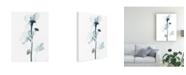 "Trademark Global June Erica Vess Midnight Blossoms I Canvas Art - 37"" x 49"""