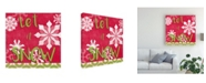 "Trademark Global June Erica Vess Lets Get Jolly VI Canvas Art - 27"" x 33"""