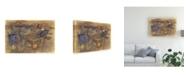 "Trademark Global Renee W. Stramel Violet Inclusion I Canvas Art - 37"" x 49"""