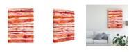 "Trademark Global Regina Moore Tangerine Stripes I Canvas Art - 37"" x 49"""