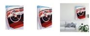 "Trademark Global Dennis Mukai Steering Canvas Art - 37"" x 49"""