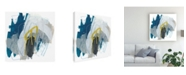 "Trademark Global June Erica Vess Symphony in Riffs I Canvas Art - 15"" x 20"""