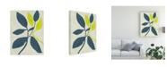 "Trademark Global Chariklia Zarris Tropic II Canvas Art - 20"" x 25"""