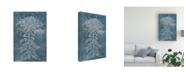 "Trademark Global Melissa Wang Indigo Dance I Canvas Art - 20"" x 25"""