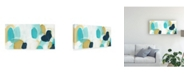 "Trademark Global June Erica Vess Boundless II Canvas Art - 20"" x 25"""