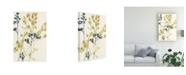 "Trademark Global Jennifer Goldberger Blush Buds I Canvas Art - 15"" x 20"""