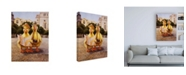 """Trademark Global Lucia Hefferna Tourists Canvas Art - 19.5"""" x 26"""""""