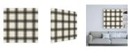 "Trademark Global Pela Studio Paris Farmhouse Pattern IIA Canvas Art - 36.5"" x 48"""