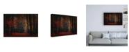 "Trademark Global Saskia Dingemans Frozen in Autumn Canvas Art - 36.5"" x 48"""