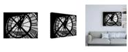 """Trademark Global Design Fabrikken Clock Tower Fabrikken Canvas Art - 15.5"""" x 21"""""""