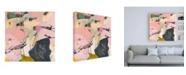 """Trademark Global Pamela K. Beer Sylvan Zephyr No. 4 Canvas Art - 36.5"""" x 48"""""""