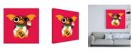 "Trademark Global Michael Buxton Lucky Mogwai Canvas Art - 19.5"" x 26"""