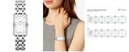 Longines Women's Swiss DolceVita Stainless Steel Bracelet Watch 23.3x37mm