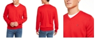 Tommy Hilfiger Men's Signature Regular-Fit V-Neck Sweater, Created for Macy's