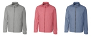 Cutter & Buck Men's Big & Tall Long Sleeves Panoramic Packable Jacket