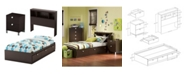 South Shore Spark Bedroom Set, Twin