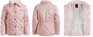Tommy Hilfiger Baby Girls Quilted Barn Jacket