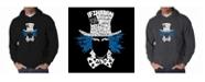 LA Pop Art Men's Word Art Hoodie - The Mad Hatter