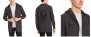 INC International Concepts I.N.C. Men's Skull Hooded Cardigan, Created for Macy's