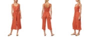 O'Neill Juniors' Shawn Cropped Jumpsuit