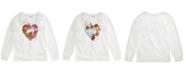 Epic Threads Big Girls Flip Sequin Unicorn Top, Created For Macy's