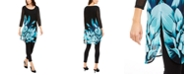 Alfani Petite Floral-Print Tunic, Created for Macy's