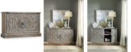 Hooker Furniture True Vintage Two-Door Accent Console