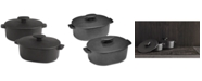 Hotel Collection Cast Iron Cocottes, Set of 2, Created for Macy's