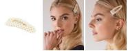 Soho Style Imitation Pearl Embellished Hair Clip