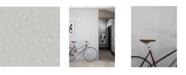 "Engblad & Co Engblad Co 21"" x 396"" Raw Light Concrete Wallpaper"
