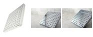 Kingston Brass Claremont Full Spray Square Rain Shower in Polished Chrome