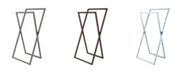 Kingston Brass Pedestal X Style Steel Construction Towel Rack