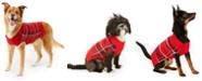 Charter Club Plaid Dog Family Family Sweater, Created For Macy's