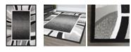 """Global Rug Designs Global Rug Design Loma LOM03 Black 7'8"""" x 10'7"""" Area Rug"""