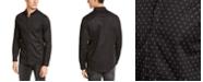 A|X Armani Exchange Men's Slim-Fit Stretch Logo Print Shirt