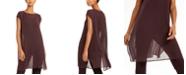Eileen Fisher Sheer Maxi Tunic Top