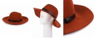 Glitzhome Wool Fedora Ribbon Hat