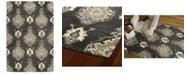 Kaleen Brooklyn 5306-38 Charcoal 8' x 11' Area Rug