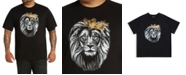 Mvp Collections By Mo Vaughn Productions MVP Collections Men's Big & Tall MVP Logo Lion King Tee