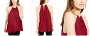 Michael Kors Sleeveless Chain-Link Halter Top, Created For Macy's