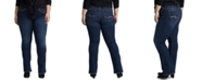 Silver Jeans Co. Trendy Plus Size Suki Curvy-Fit Slim Bootcut Jeans