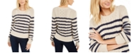 Weekend Max Mara Striped Cable-Knit Sweater